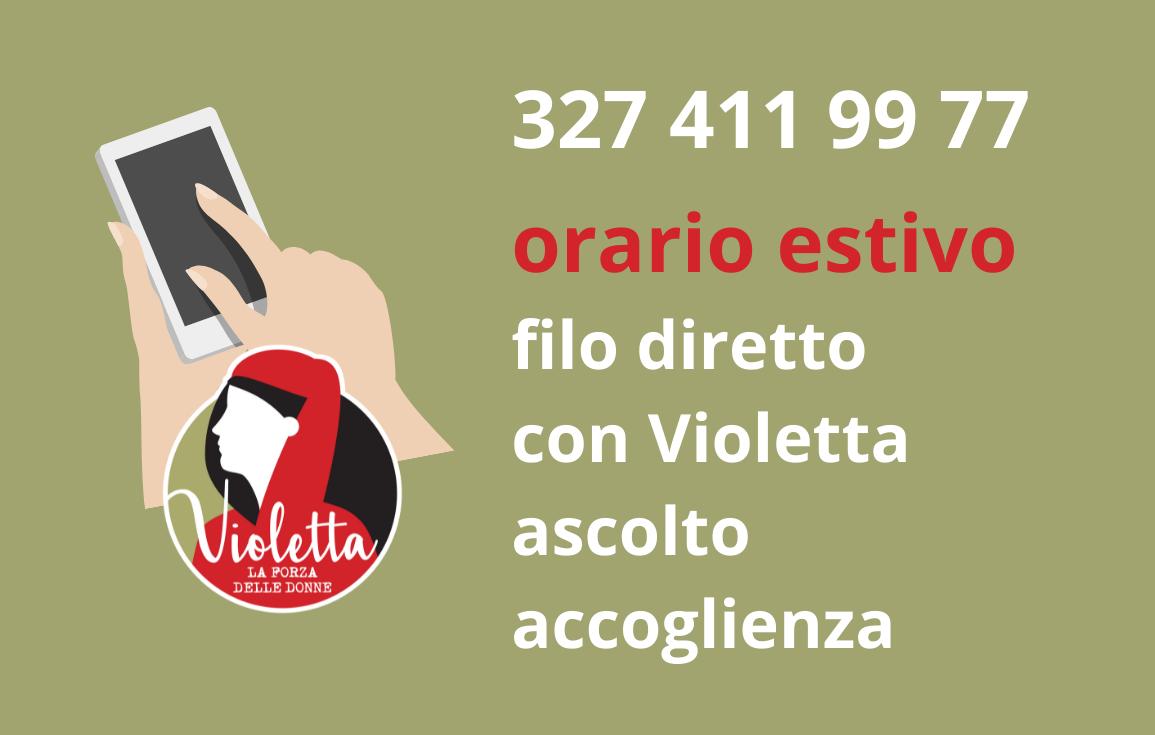 FILO DIRETTO CON VIOLETTA